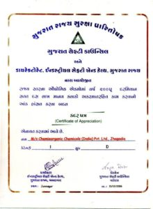 ChemieOrganic Chemicals Certification